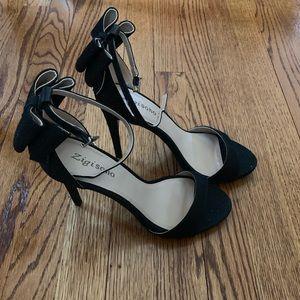 Zigi Soho Sparkly Black Heels
